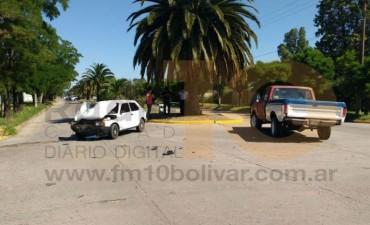 Accidente en Av. Pedro Vignau y Rodríguez peña: un conductor hospitalizado con lesiones