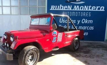 Ruben Montero Automotores: El sorteo solidario por un Jeep será este sábado