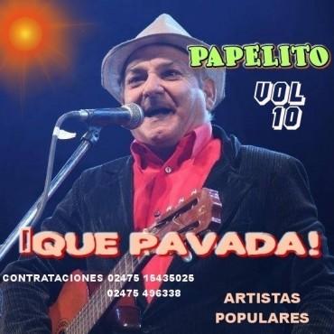 Papelito trae su nuevo show mañana en el club Villa Juana