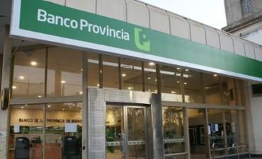 Banco Provincia: Sin atención para lunes y martes por una medida de fuerza