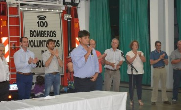 Emotivo acto de promoción de Ascensos en Bomberos Voluntarios