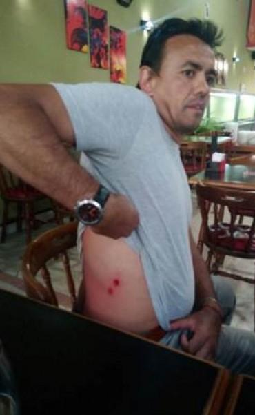 Represión a Ariel Ferreyra, referente de Unidad Ciudadana en Bolívar