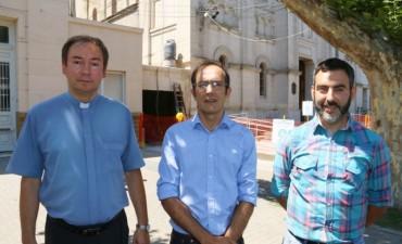 El intendente Pisano presentó la puesta en valor de la Iglesia