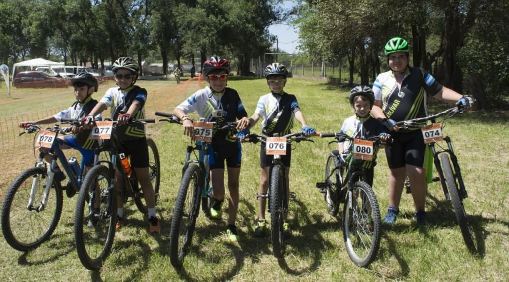 La Escuela de Ciclismo Municipal compitió en Venado Tuerto