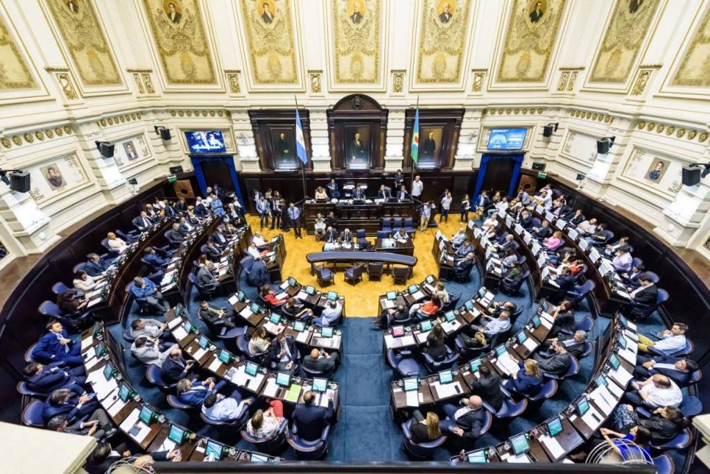 La Legislatura bonaerense aprobó el presupuesto 2019