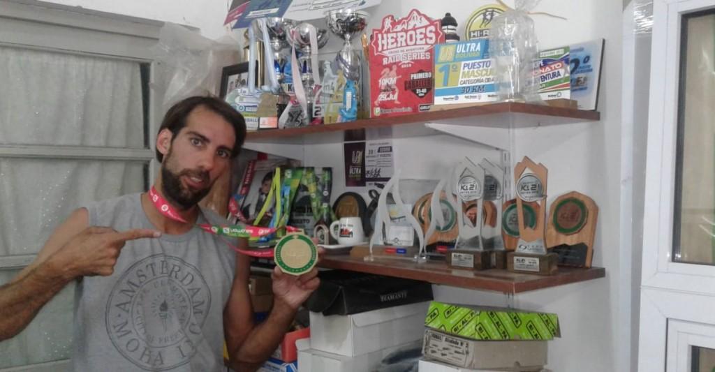 Jorge Arancibia: 'En noviembre ya mi cuerpo pedía descanso, pero cerré un año con 24 competencias'