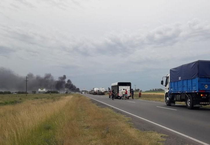 Gravísimo accidente de tránsito en Daireaux