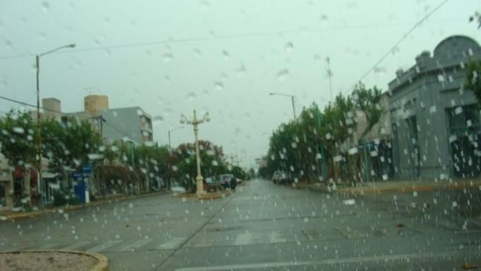 Datos de registro de lluvias acumulado de los últimos días