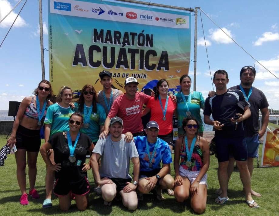 El equipo del Natatorio Municipal compitió en Junín
