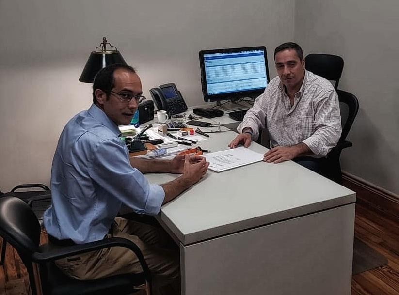 Pisano gestiona una sede del Registro Nacional de Reincidencia
