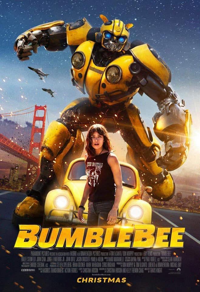 Llega al Cine Avenida el estreno simultaneo de Bumblebee en 3D