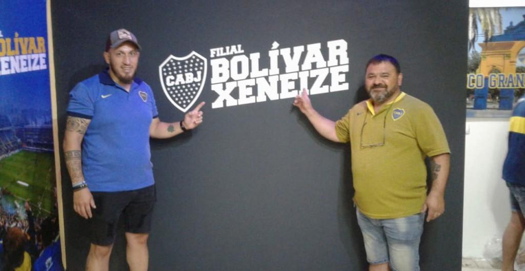 La familia Xeneize de Bolívar ya tiene su filial en la ciudad