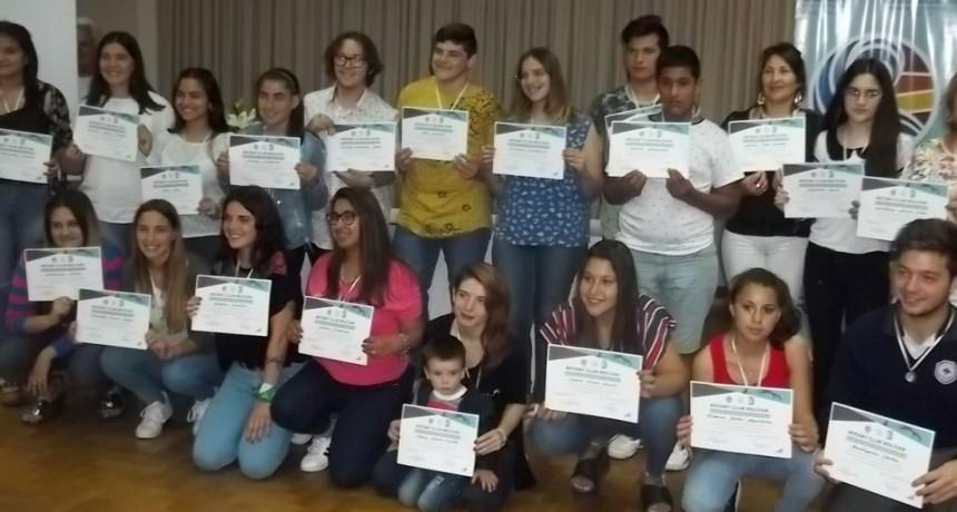 Rotary Club Bolívar entrego las distinciones Mejor Compañero 2018