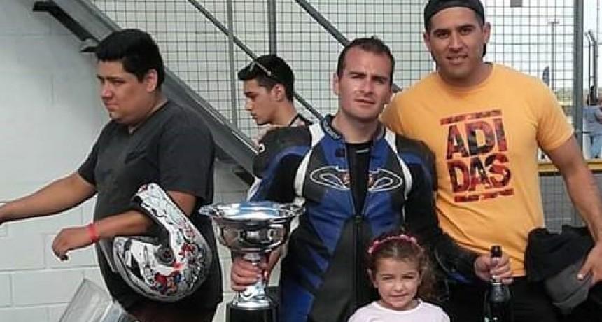 El moto 3 tiene campeón bolivarense y es Martin Villarreal