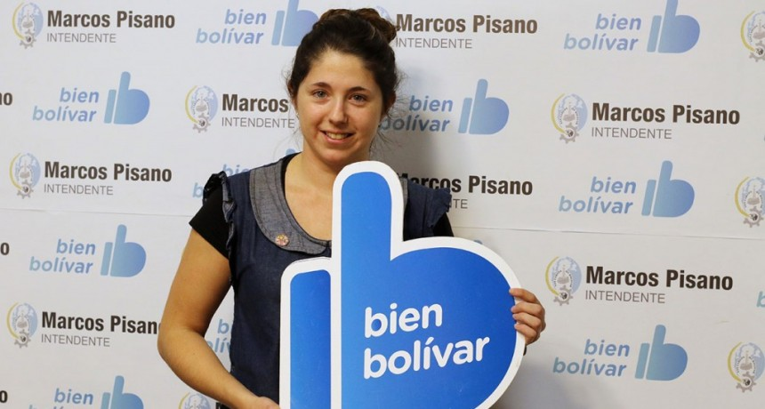 Melina Estelrich recibió una ayuda económica del municipio para representar a la Argentina en Chile