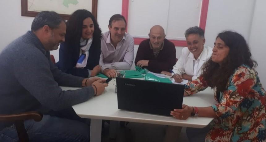 José Gabriel Erreca visitó al intendente de Tandil
