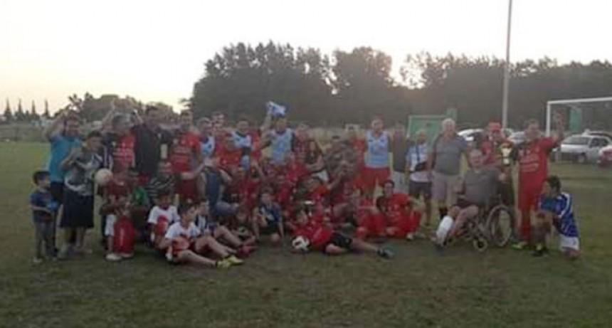 Casariego se consagro campeón en la categoría menores del futbol senior