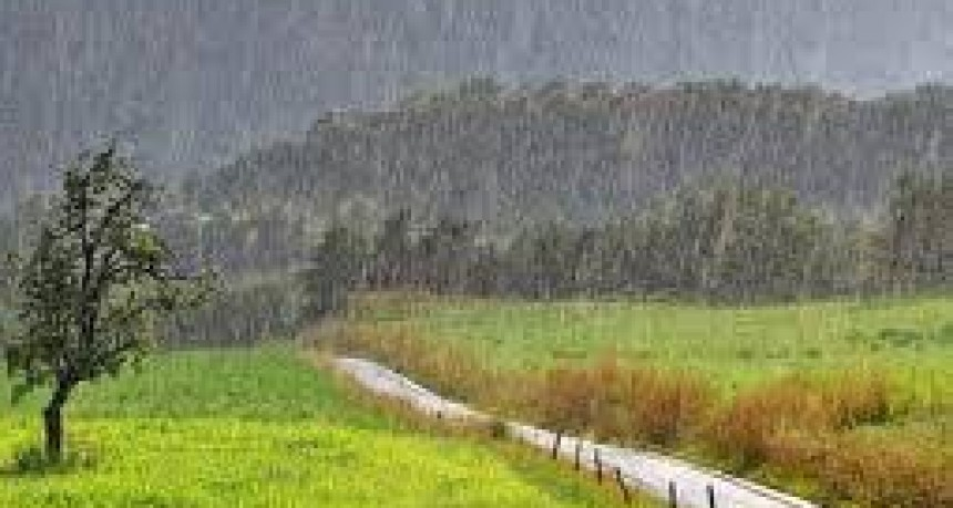 Registro de lluvias: Desde 5 hasta 17 mm registrados en Bolívar y la zona