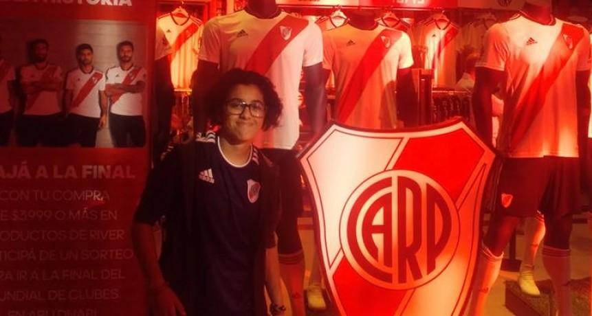 Barbara Grismado quedó seleccionada y podrá comenzar sus practicas en River Plate