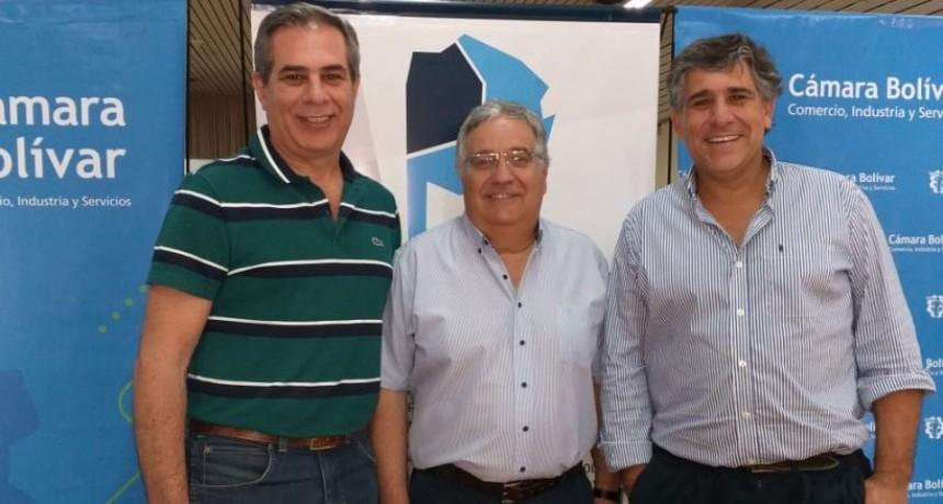 Reunión de la Federación del Nucleamiento Empresarial en Bolívar