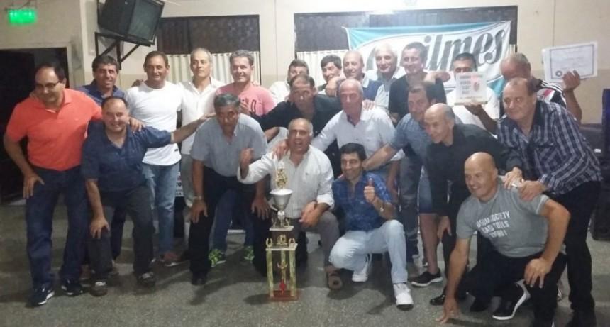 El Club Argentino festejó el campeonato que obtuvo en el torneo Daniel Tati Diaz