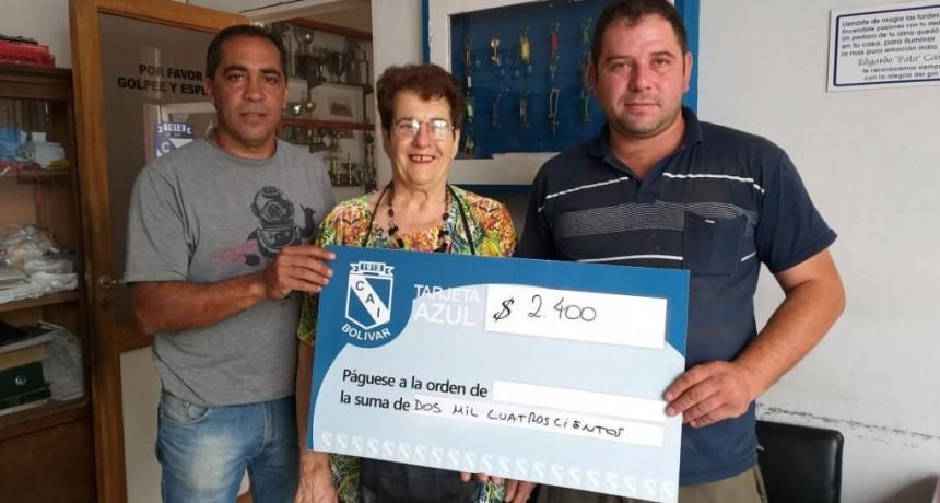La Tarjeta Azul de Club Independiente sigue con la entrega de premios