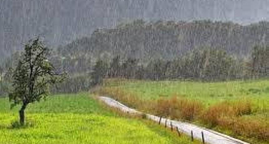 Se registraron lluvias entre los 8 y 20 mm caídos en Bolívar y la zona