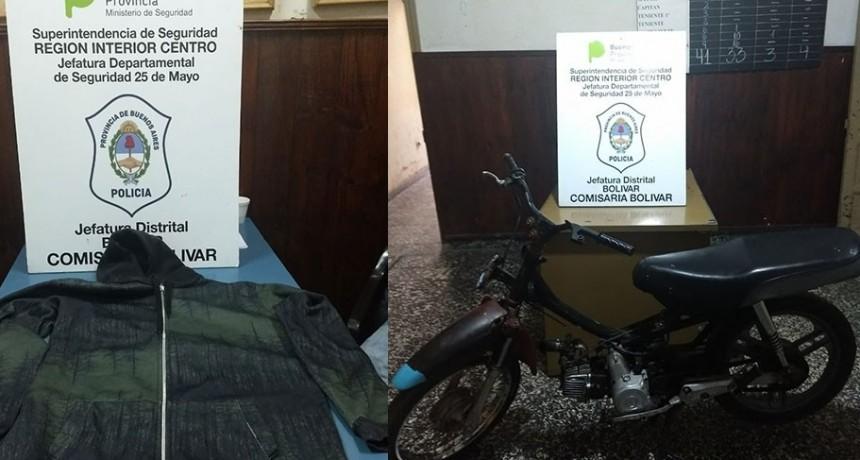 Informe de Comisaria Local: Allanamiento por caso de Hurto de Motovehiculo
