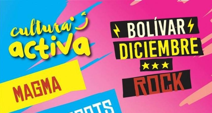Continua el Bolívar Diciembre Rock en el Centro Cívico