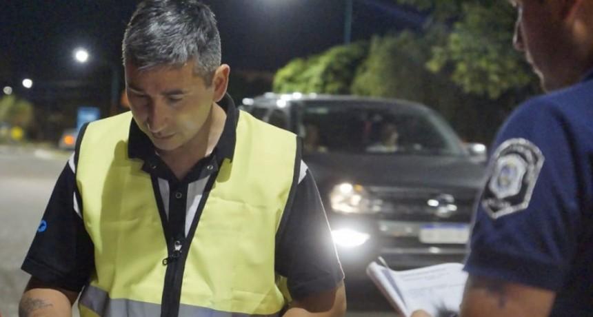 El intendente Pisano intensifica los controles de alcoholemia durante estas fiestas