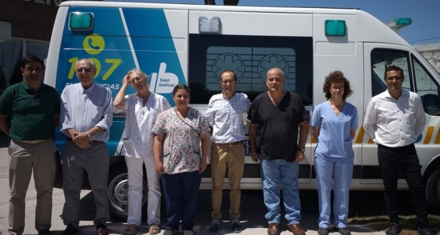 Se incorporó una unidad de terapia intensiva para el Hospital Local
