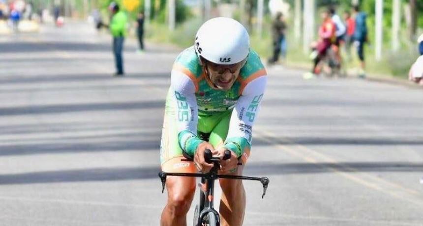 Dotti, se quedó con la crono en la Vuelta a La Bebida de San Juan