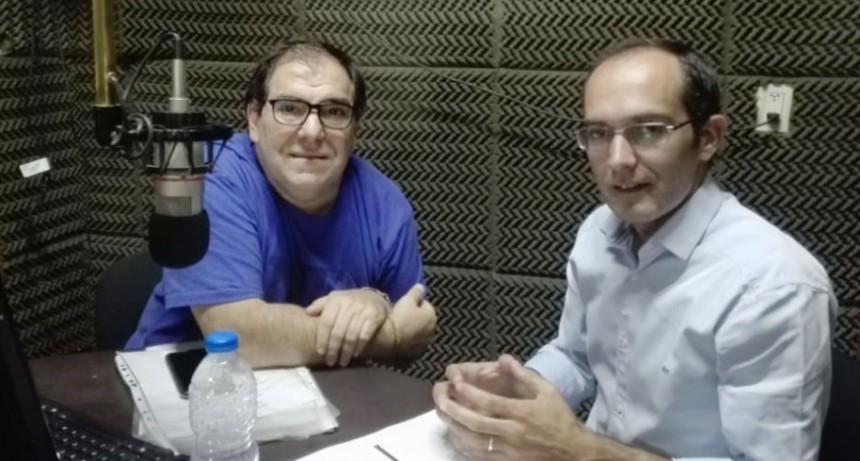 Marcos Pisano: 'Es necesario que los vecinos sepan muchas veces desde el gobierno nacional no tenemos el debido acompañamiento en cuestiones de suma importancia'