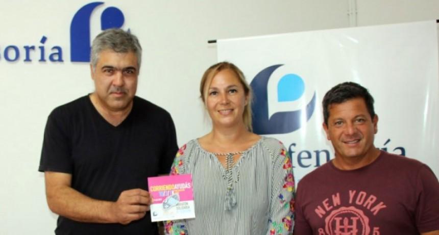 La Defensoría del Pueblo presentó la maratón a beneficio del Hospital de Niños