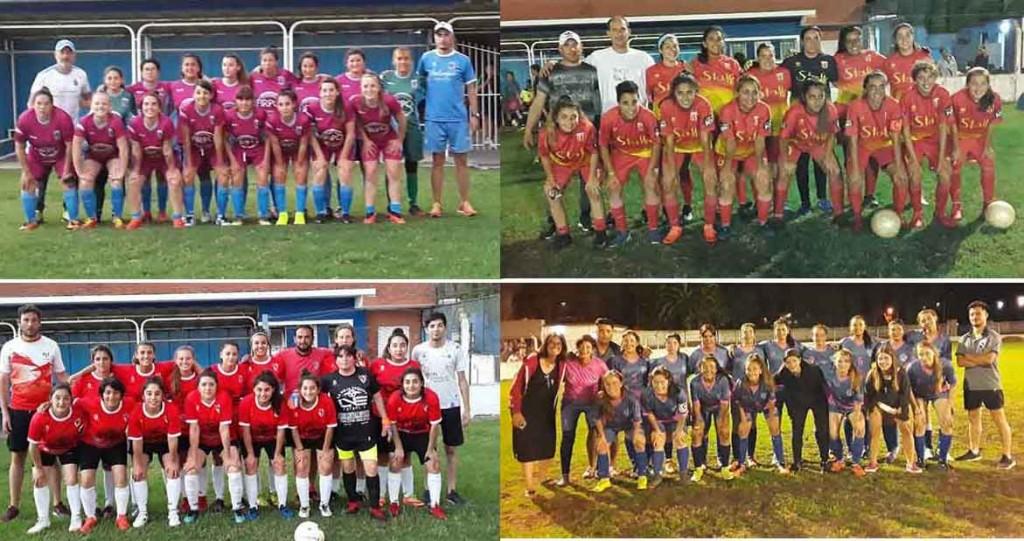 Bull Dog, Balonpie, Casariego e Independiente semifinalistas de la Copa Ciudad del Futbol Femenino