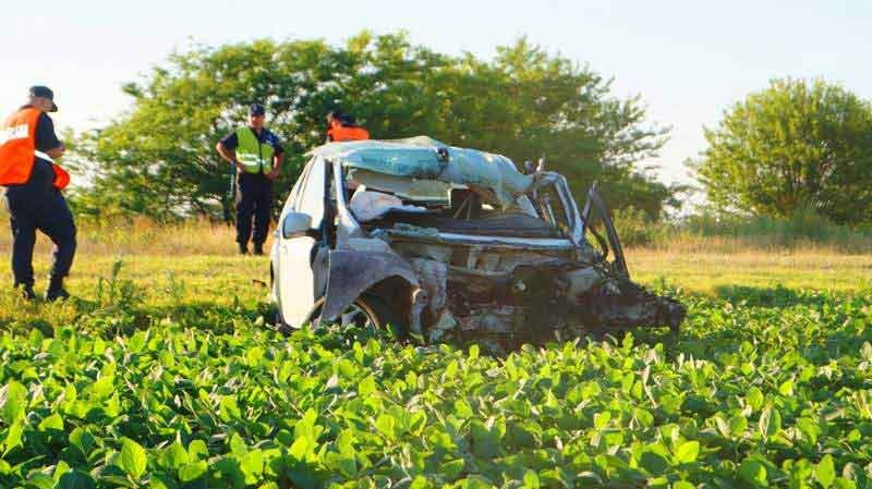 Chivilcoy: Fatal accidente en la Ruta N° 51
