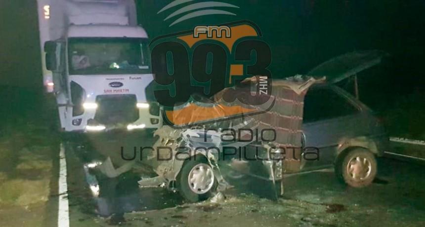 Se conoció la identidad de las personas fallecidas en el choque frontal de ruta 65