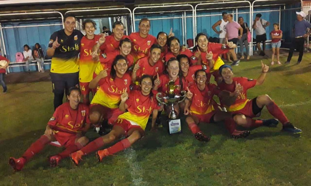 Bull Dog de Daireaux campeón de la Copa Ciudad de Futbol Femenino