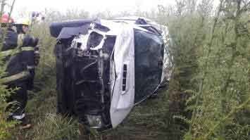 Henderson: Una vecina perdió la vida tras el vuelco de la camioneta en la que viajaba