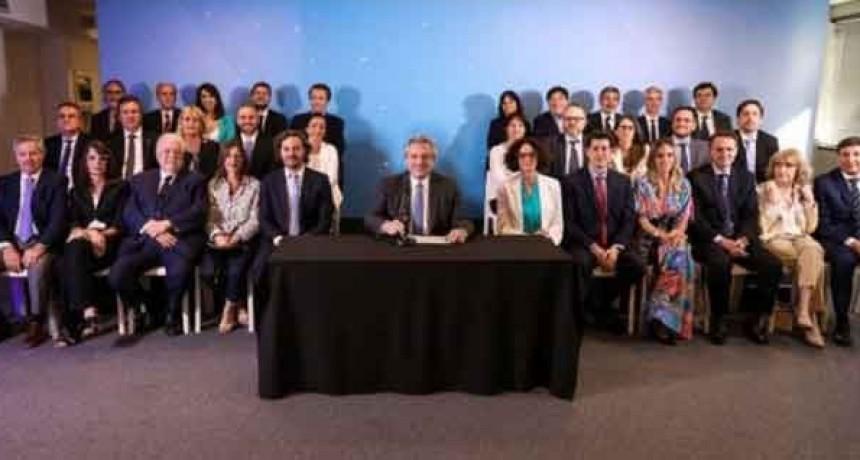 Alberto Fernández presentó el Gabinete Nacional que asume el próximo 10 de diciembre