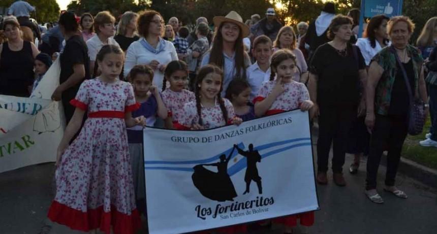 Los Fortineritos cierran el año con una gran peña en Club El Fortín