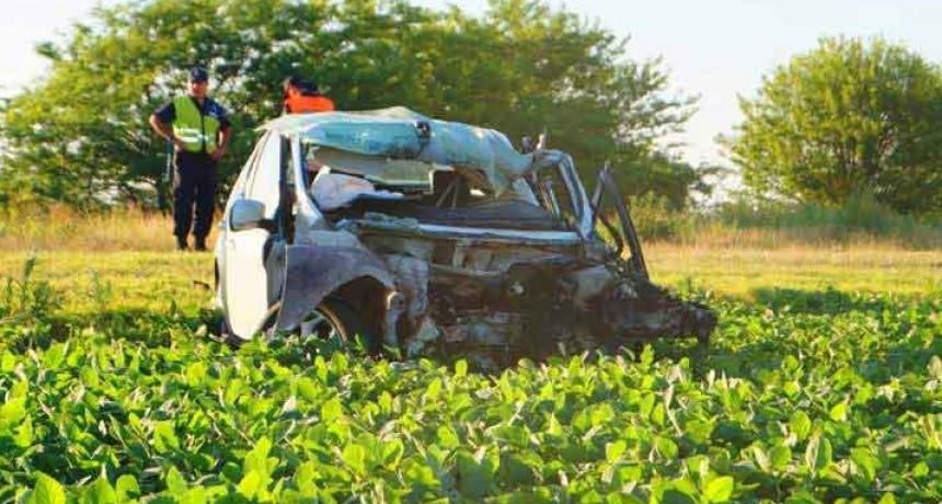 Chivilcoy: Fatal accidente en la Ruta N° 51