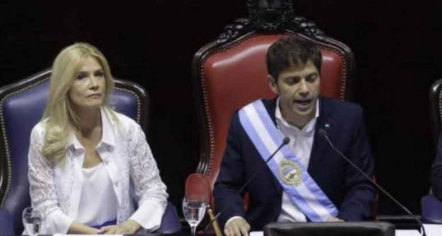 Axel Kicillof asumió como gobernador y derogará el último tarifazo de Vidal