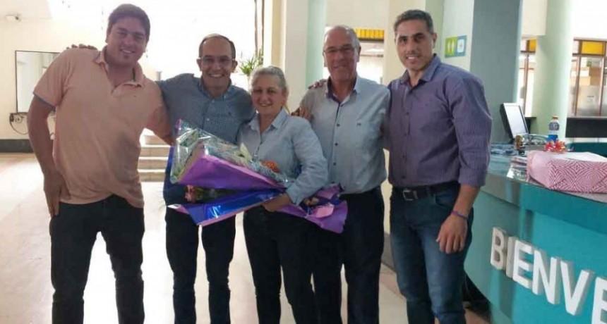 Emotiva despedida de Griselda Vava en la Municipalidad