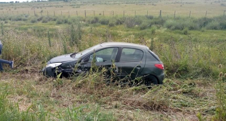 Ruta 51: Accidente sin consecuencias personales