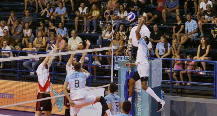 Copa RUS Argentina: Bolívar Vóley dejó atrás a River y se metió en semifinales