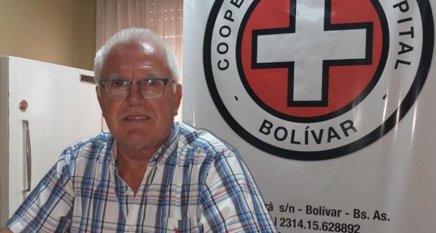 Norberto García: 'La Cooperadora ha hecho compras por más de 4 millones de pesos, consensuadas con los médicos y la dirección del hospital'
