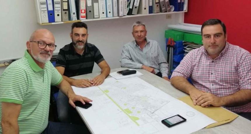 Sarraúa y Ezcurra se reunieron con funcionarios de Daireaux