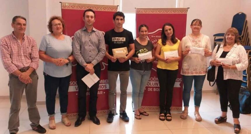Se realizó la entrega de los premios finales de la rifa 2019 de Bomberos Voluntarios