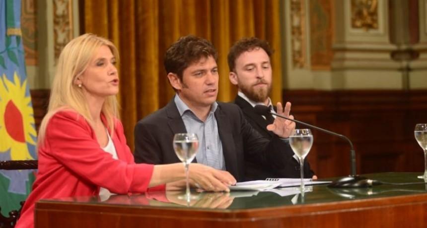 Kicillof: 'Este gobernador no va a aceptar extorsiones para aprobar leyes'